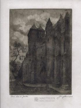 Toruń. Kościół św. Jakuba, 1924