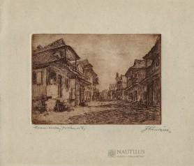 Krzemieniec. Domy przy ulicy Kładkowej, 1926