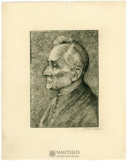 Józef Pieniążek, Portret kardynała Adama Stefana Sapiehy