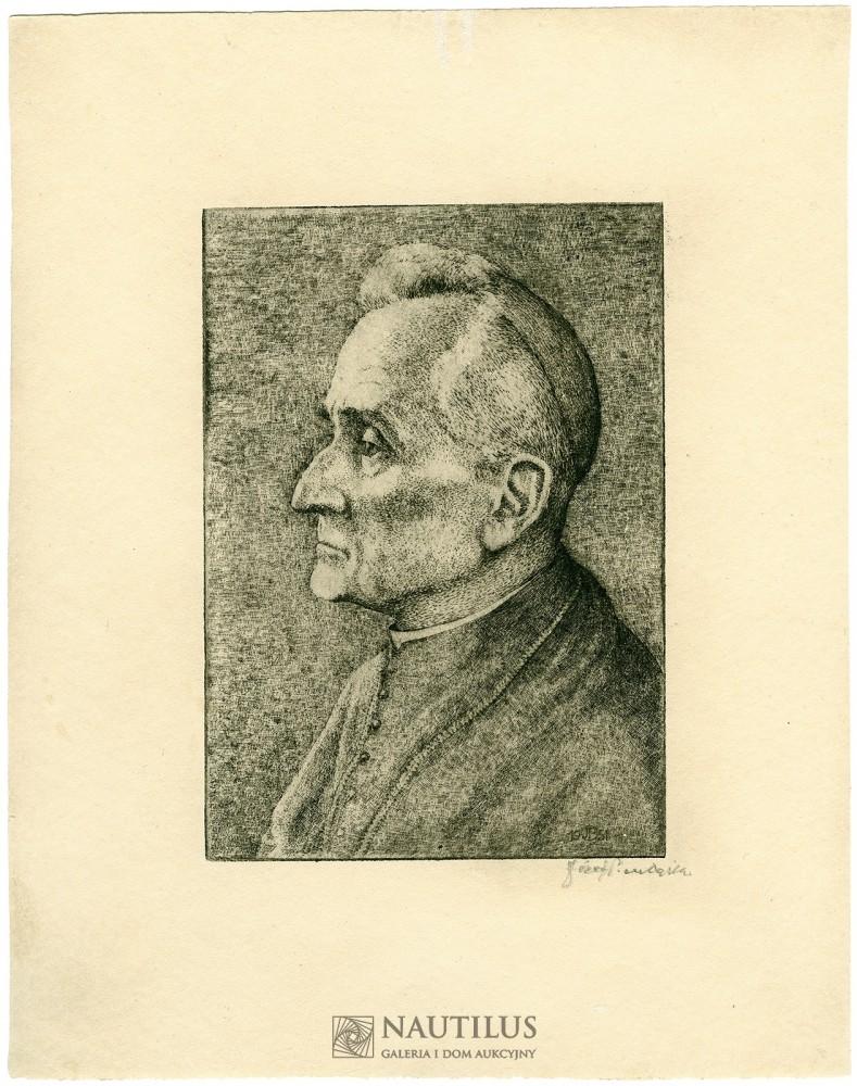 Portret kardynała Adama Stefana Sapiehy