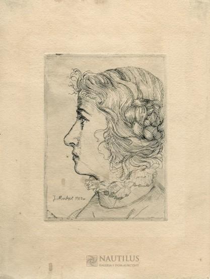 Merkel Jerzy, Portret kobiety