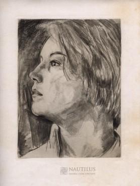 Madchenbildnis [Portret dziewczyny], ok. 1924