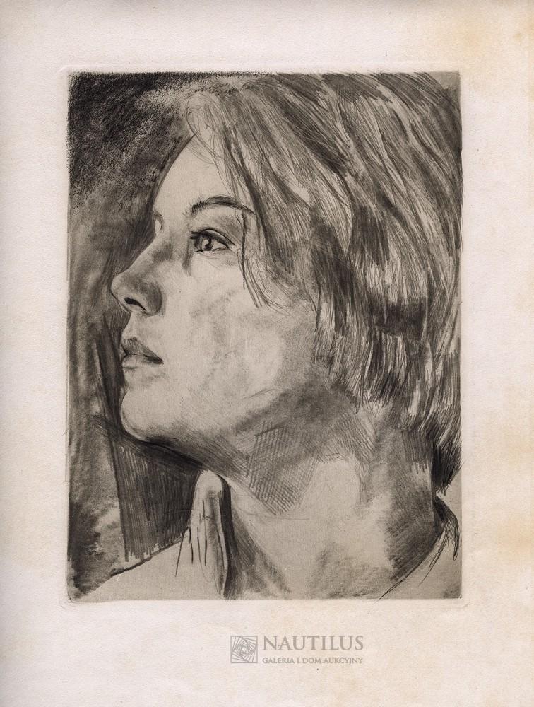 Madchenbildnis [Portret dziewczyny]