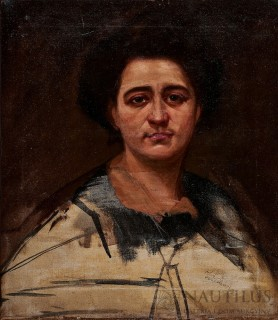 Portret kobiety, Początek XX w.