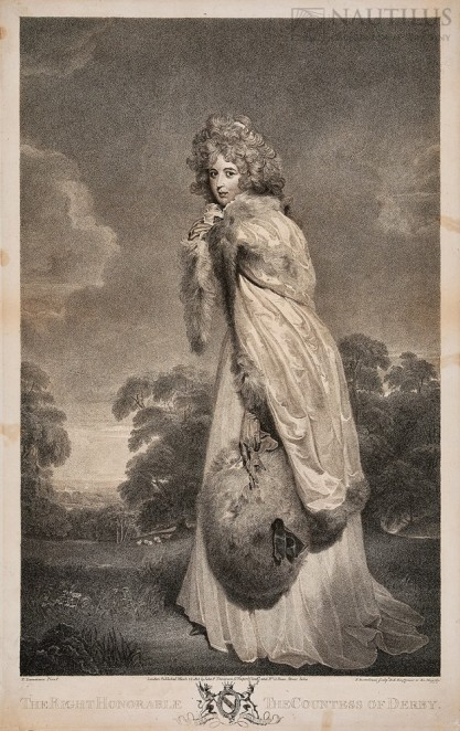 Francesco Bartolozzi, Thomas Lawrence, Elizabeth Farren, późniejsza Countess of Derby