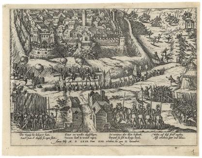 Franz Hogenberg, Oblężenie miasta Sant Jean d'Angely