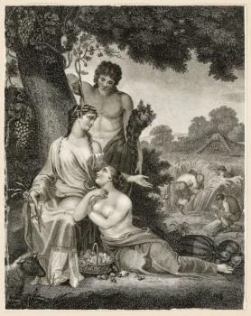 Alegoria ogrodnictwa i rolnictwa, ok. 1802 - 1823
