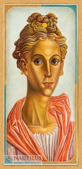 Portret młodzieńca [Apollo], lata 30. XX wieku.
