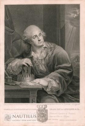 Portret Stanisława Augusta z klepsydrą, 1798