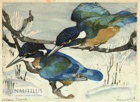 Zimorodki, lata 30. XX wieku.