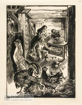 Wylęgarnia kur, 1950