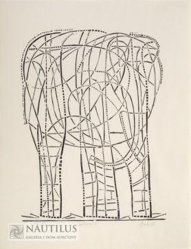 Der Elefant II, 1959