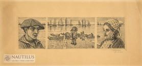 Tryptyk z Portrieux, ok. 1914