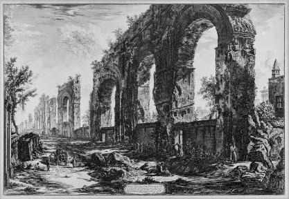 Giovanni Battista Piranesi, Avanzi degli Acquedotti Neroniani