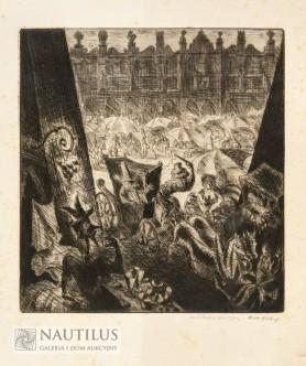 Targ na Rynku, koniec lat 30. XX wieku