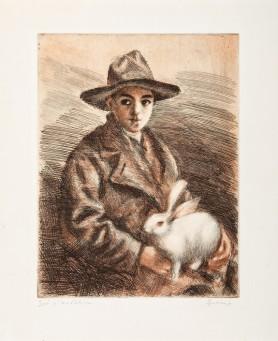 Jaś z królikiem, lata 30-te XX wieku