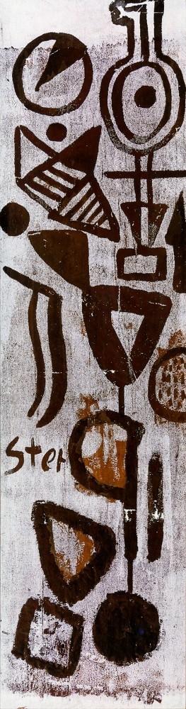Kompozycja [matryca do sitodruku], początek lat 60. XX wieku
