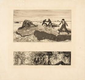 Połów / Wrota piekieł, 1889