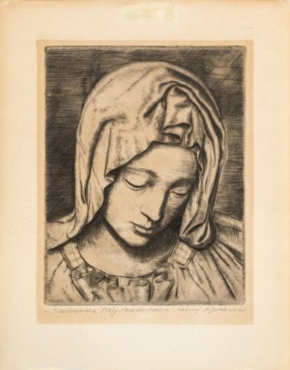 Kazimierz Dzieliński, Madonna z Piety Michała Anioła
