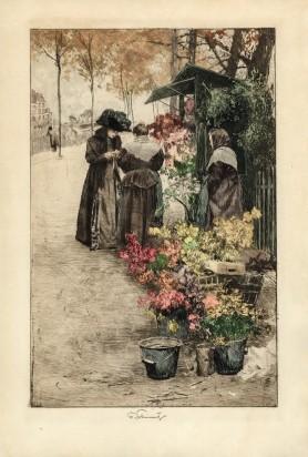 Wiedeńska kwiaciarka, ok. 1909