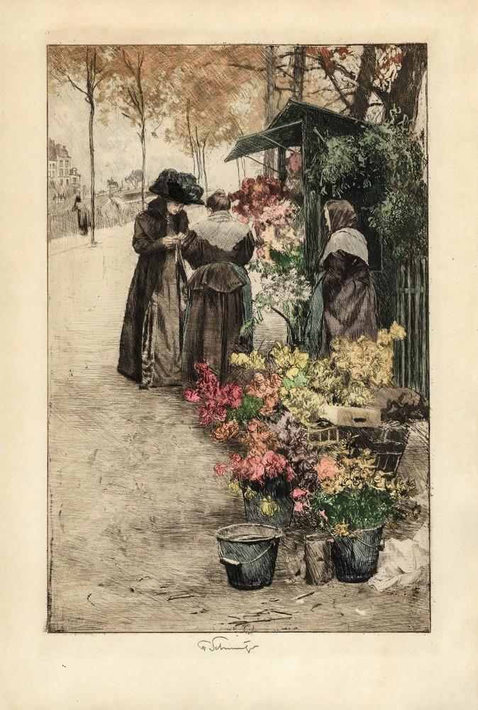Wiedeńska kwiaciarka