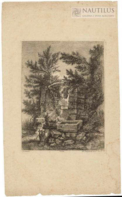 Johann Georg Hertel II, Johann Georg HERTEL I, Studnia w posiadaniu ptaków