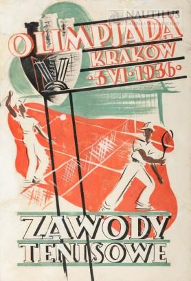 Zawody tenisowe, 1936