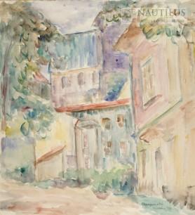 Zaułek krakowski, 1933