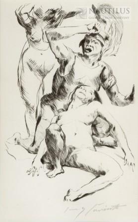 Tezeusz i Ariadna I, 1914