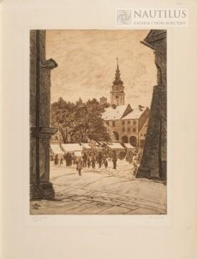Jarmark w Chełmsku Śląskim, 1927