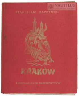 Kraków. Teka 7 oryginalnych drzeworytów