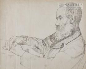 Portret ojca – Leona Wojnarskiego, 1909