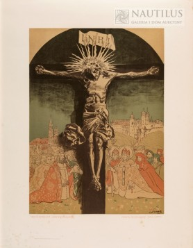 Krucyfiks Królowej Jadwigi z Katedry na Wawelu, 1915