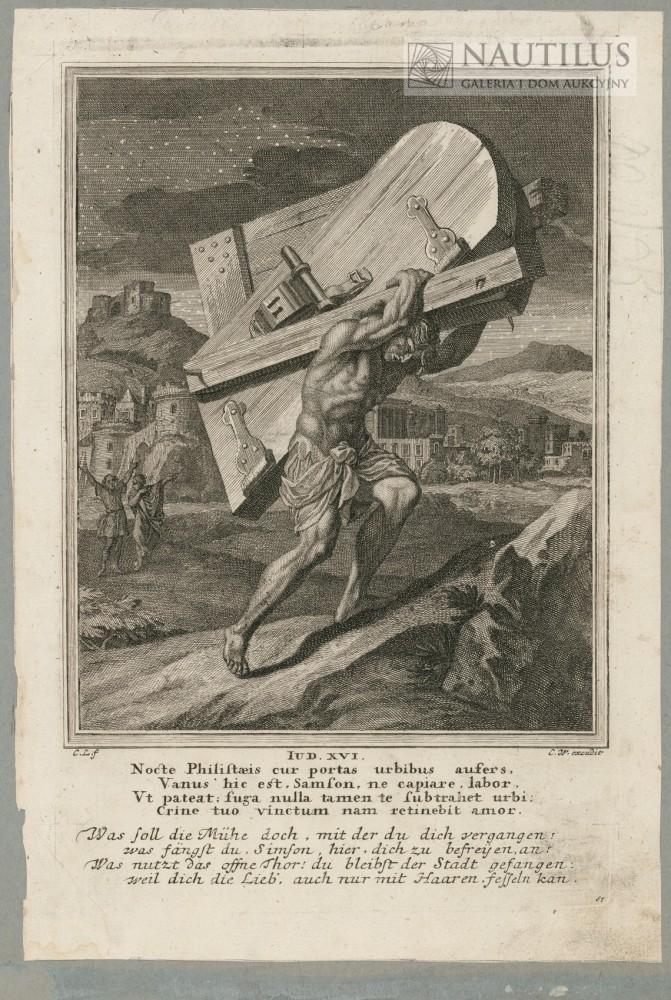 Samson dźwigający wrota do miasta