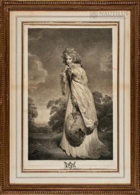Elizabeth Farren, późniejsza Countess of Derby, 1803