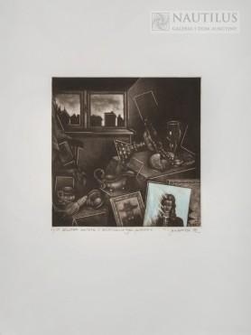 Martwa natura z niedokończonym portretem, 1978