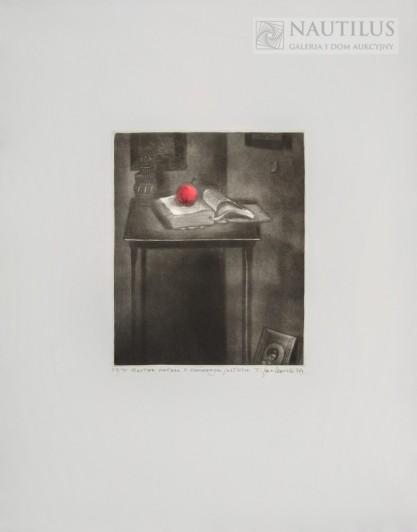 Tadeusz Jackowski, Martwa natura z czerwonym jabłkiem