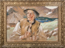 Portret górala, lata 20. XX w.