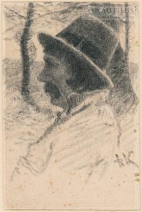Portret chłopa, koniec XIX wieku