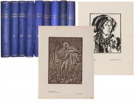 Sztuki Piękne Miesięcznik poświęcony architekturze, rzeźbie, malarstwu, grafice i zdobnictwu, 1924 - 1934