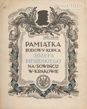 Pamiątka budowy Kopca Józefa Piłsudskiego w Krakowie, 1935