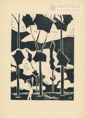 Grafiki, 1916 - 1963 Teka 10 linorytów, 1916