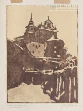 Kościół Bernardynów w Warszawie, 1920