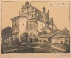 Warszawa. Kościół św. Anny OO. Bernardynów, 1923
