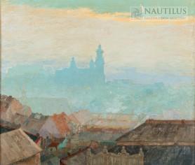 Widok na Wawel, 1935