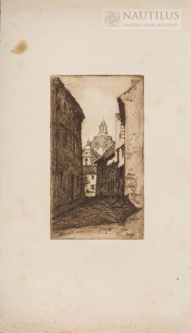 Wilno. Kościół św. Kazimierza, 1923