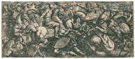 Sceny bitewne I, XVII w.