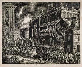 Lajkonik pod Sukiennicami, 1935