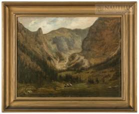 Pejzaż tatrzański, ok. 1870