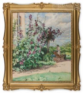Malwy w ogrodzie, początek lat 30. XX wieku